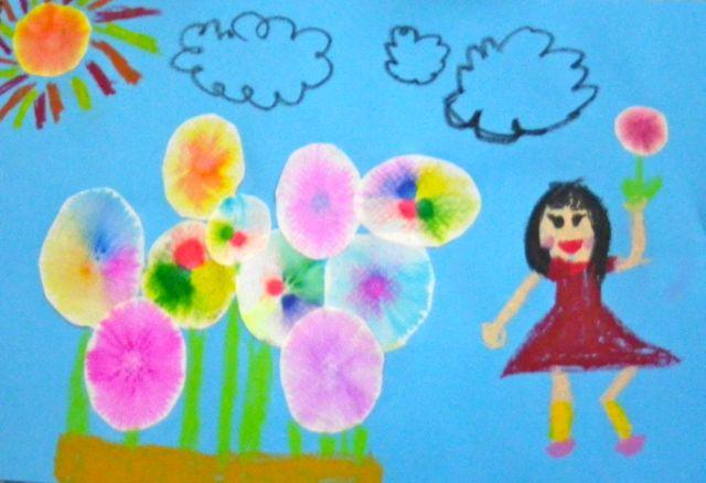 虹の花・完成1