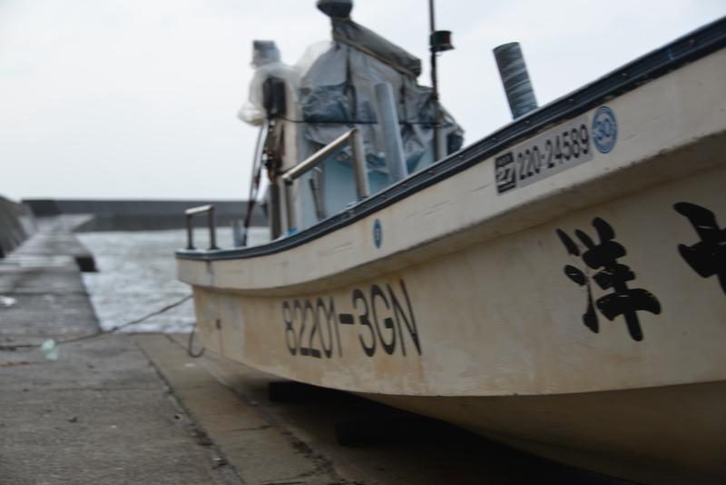 冬の漁港-1