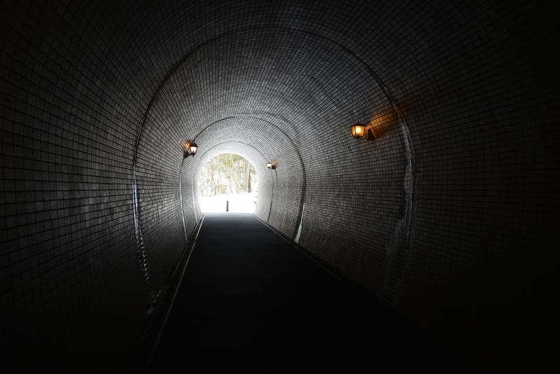 雪のトンネル-2