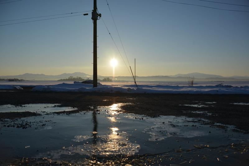 凍てつく朝-1