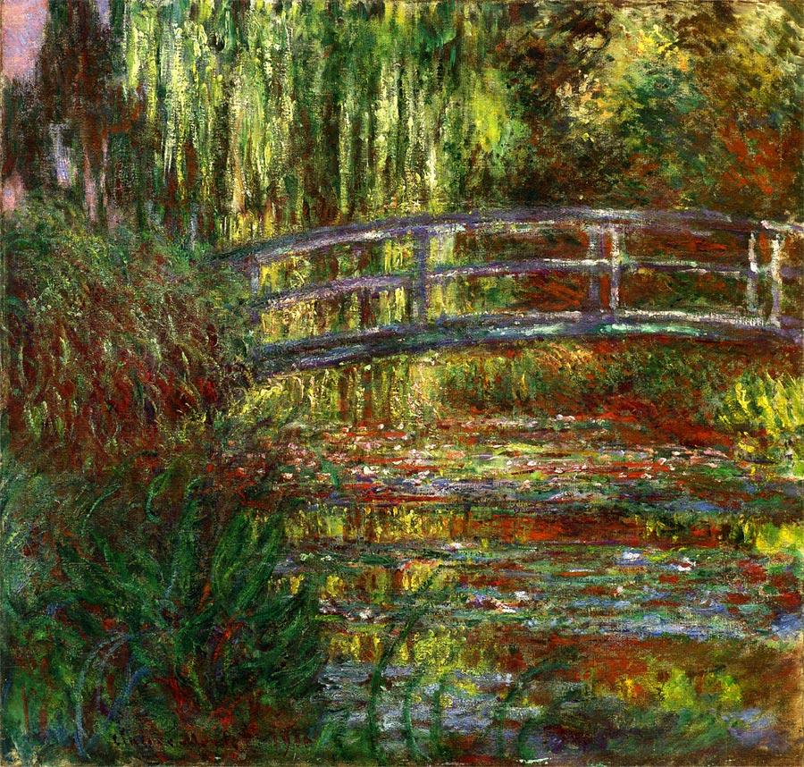 『睡蓮の池』