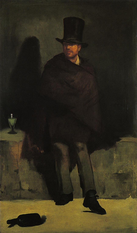 アブサンを飲む男 マネ アート名画館