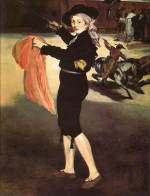 エスパダの衣装をつけたヴィクトリーヌ・ムーラン マネ