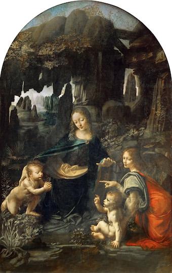 岩窟の聖母 アート名画館 ダヴィンチ