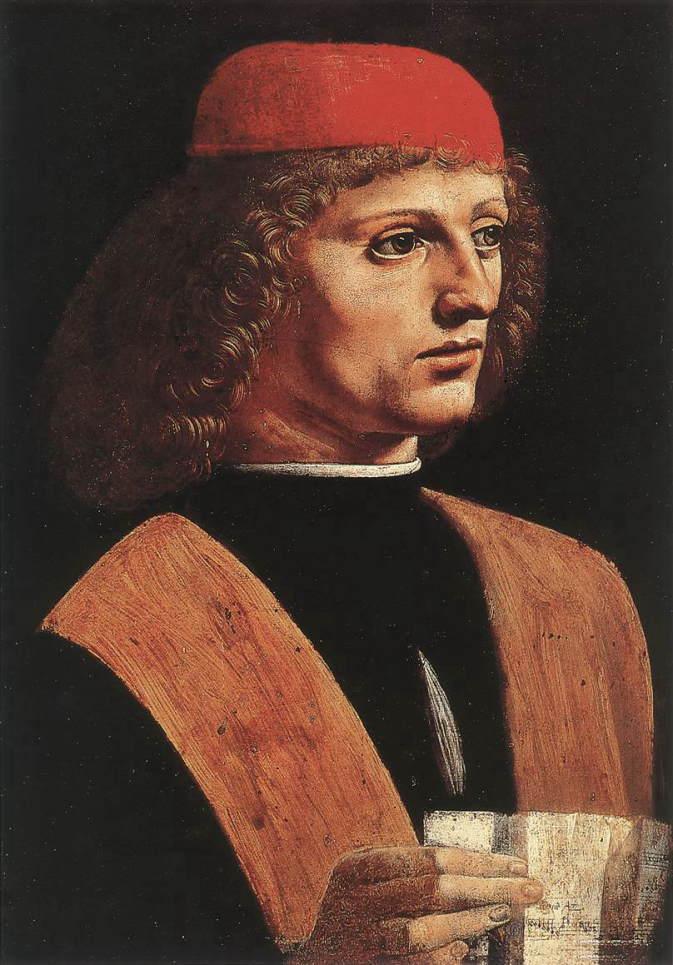 音楽家の肖像 アート名画館 ダヴィンチ