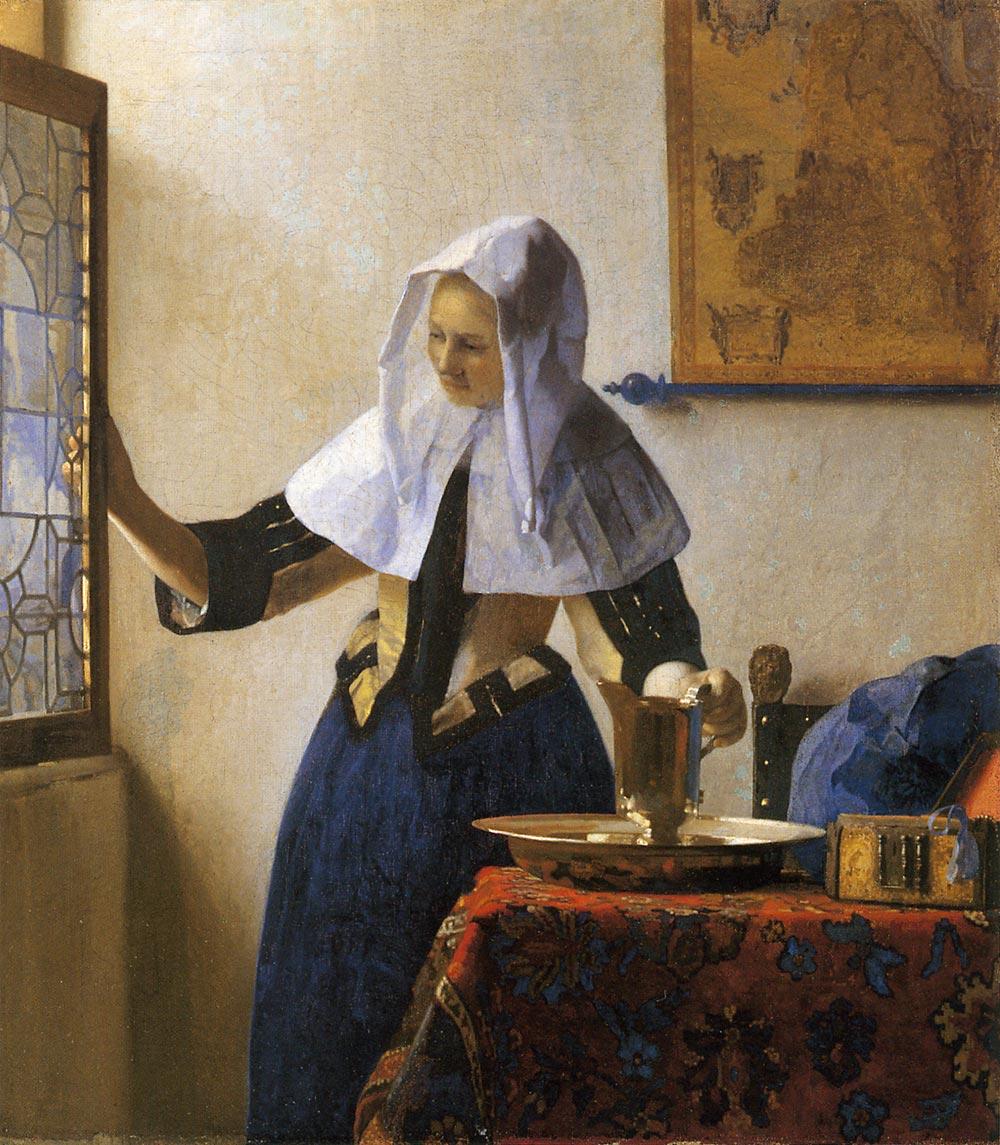 水差しを持つ女 フェルメール アート名画館