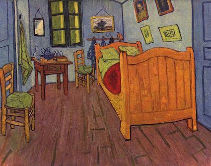 ゴッホの寝室 デトロイト美術館 アート名画館 ゴッホの部屋
