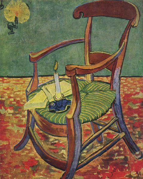 ゴーギャンの肘掛け椅子 アート名画館 デトロイト美術館 ゴッホ
