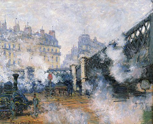 ヨーロッパ橋 サンラザール駅 モネ アート名画館