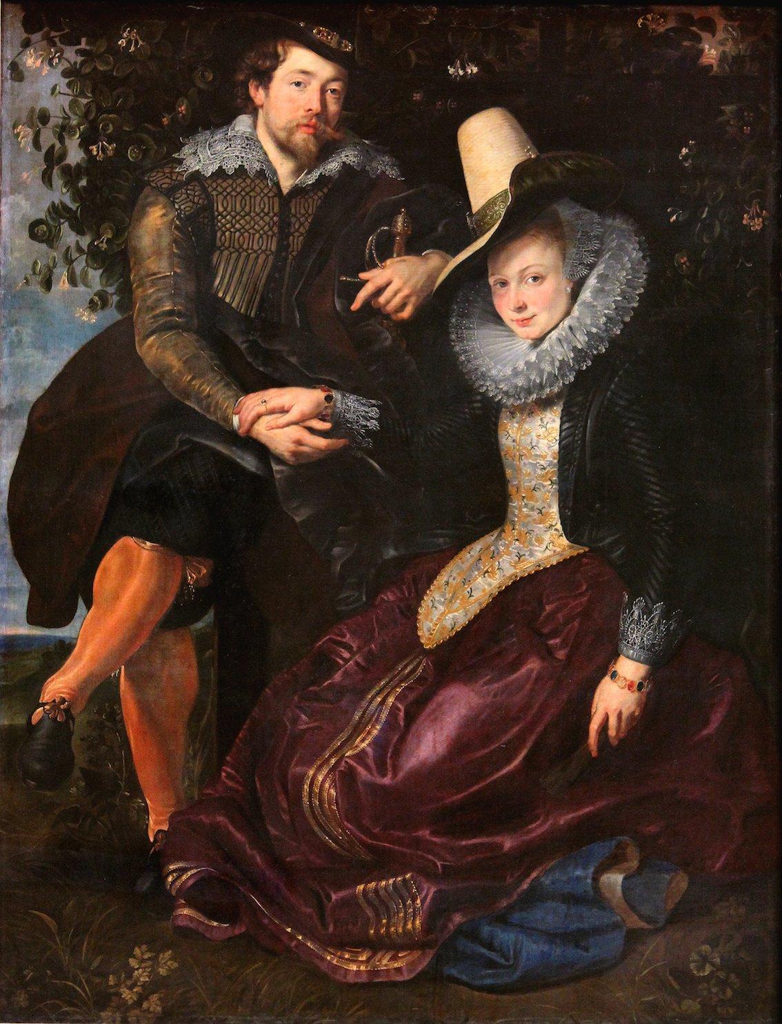 ルーベンスとイザベラの肖像