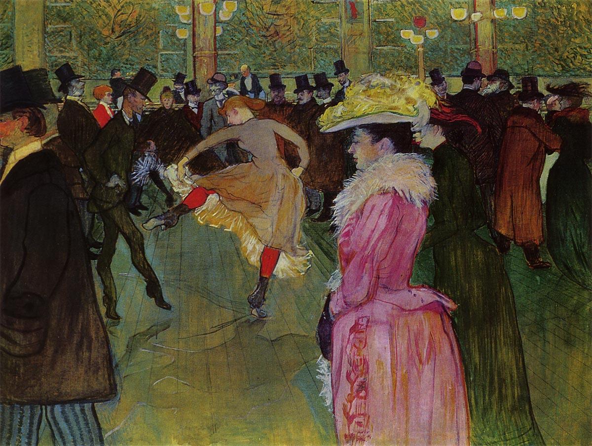 ムーラン・ルージュの踊り アート名画館 ロートレック