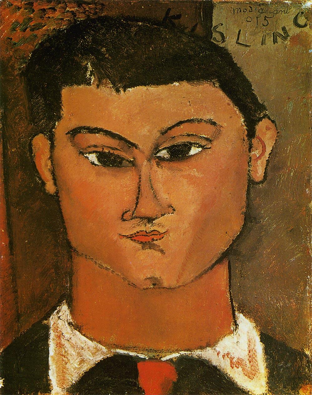 モイズ・キスリングの肖像 モディリアーニ