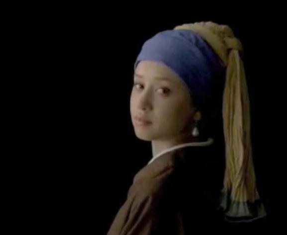 リョーユーパン 名画 フェルメール 真珠の首飾りの少女
