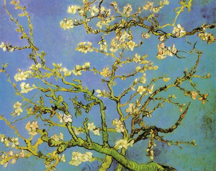 アーモンドの花咲く枝 ゴッホ アート名画館