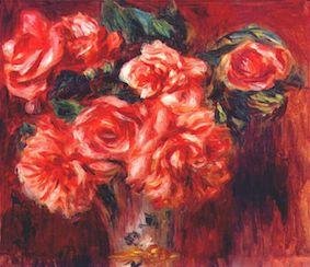ルノワール moss roses オルセー美術館