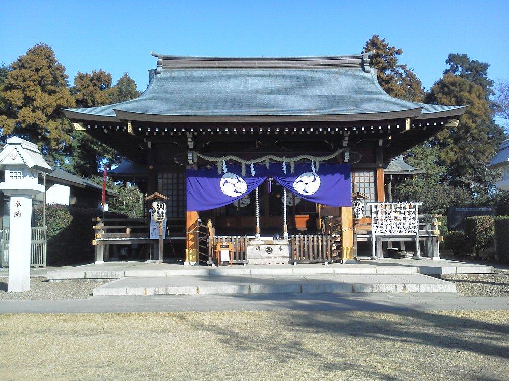 F1000261下新倉氷川八幡神社