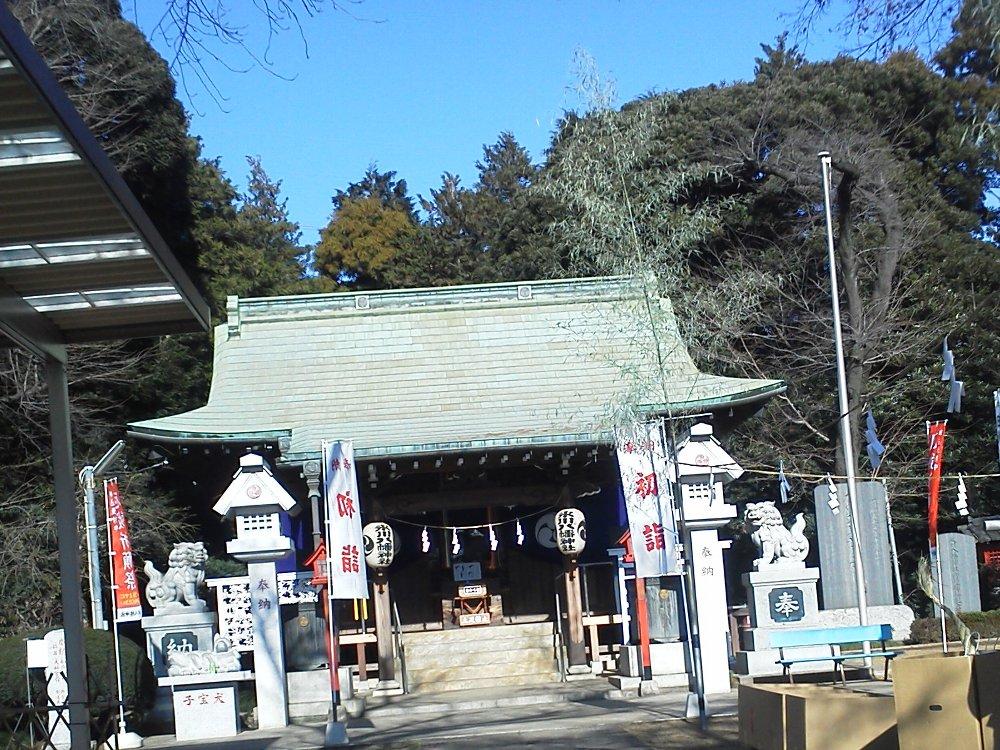 F1000263新倉氷川八幡神社
