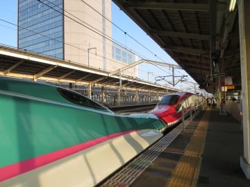 郡山駅新幹線ホーム