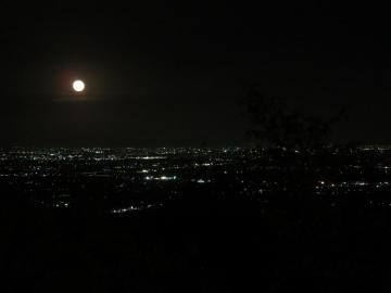 食事処からの夜景