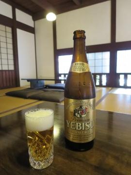 恵比寿ビール 中瓶 700円