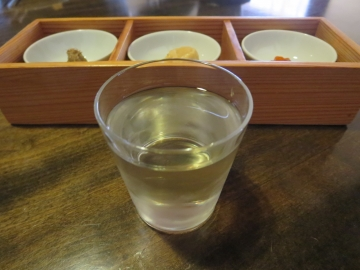 房島屋 純米吟醸 ぐい呑 400円