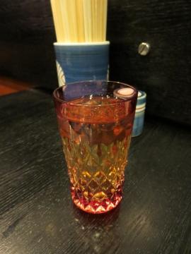 ウイスキー(山崎) 600円、水割りで