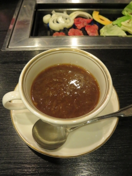 オニオンスープ 450円
