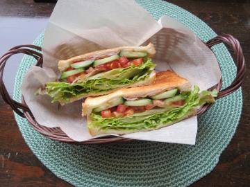 オリジナルサンドイッチ 600円