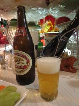 瓶ビールを
