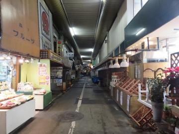 夜の旦過市場