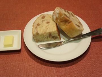自家製くるみパン