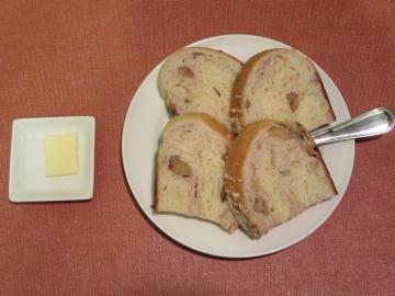 自家製くるみパン 350円