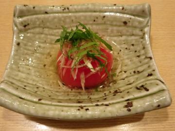 出汁トマト 480円