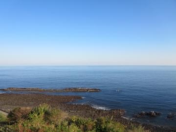 日南海岸、道の駅フェニックスからの景観