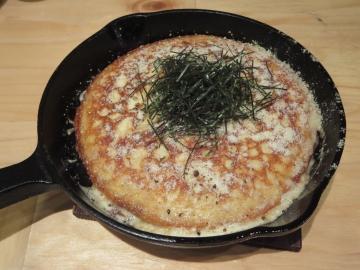 山芋チーズ鉄板 750円