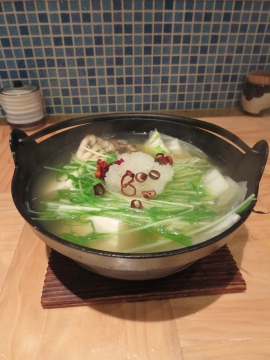 豚の小鍋 780円