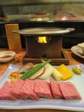 松阪牛石焼