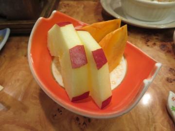 最後に果物