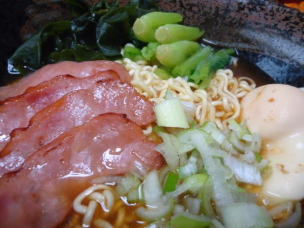 10/25 家食・蜜汁チャーシュウラーメン