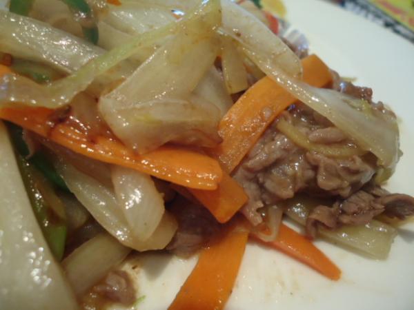 1/30 ソフィア・牛肉のデミソース炒め