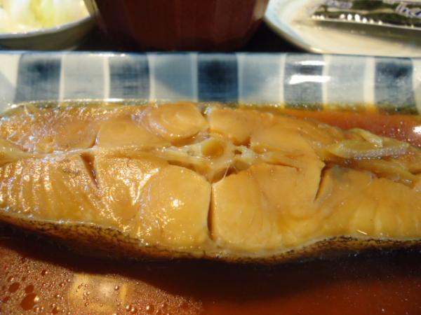 2/24 番番・カレイ煮漬け定食