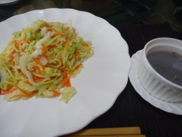 2/26 家食・焼きそばナンプラー味