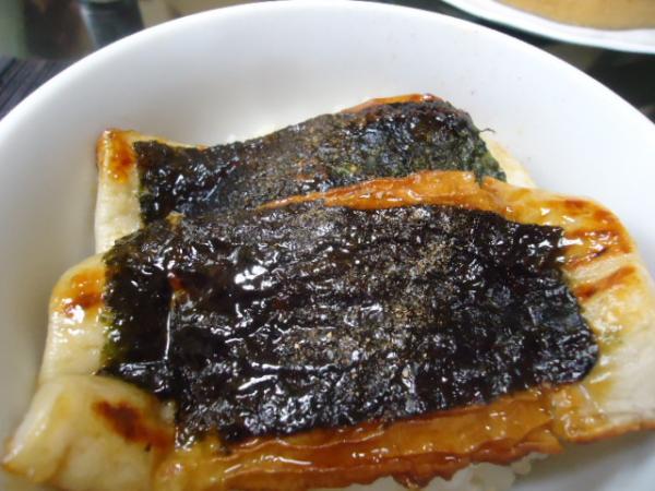 3/1 家食・うなぎもどき丼&ブルーベリーケーキ