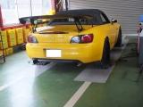 S2000 AP1 コーナーウエイト&4輪アライメント 1