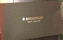 ステッドラーの水彩色鉛筆