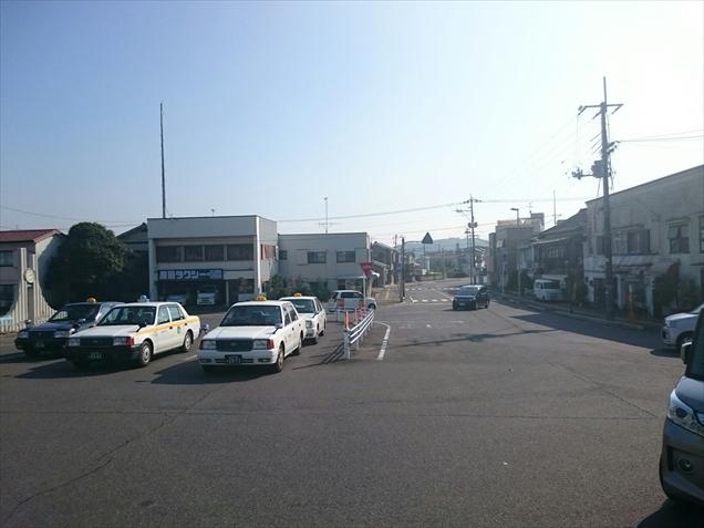 田布施駅前
