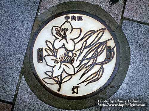 東京都中央区 マンホール