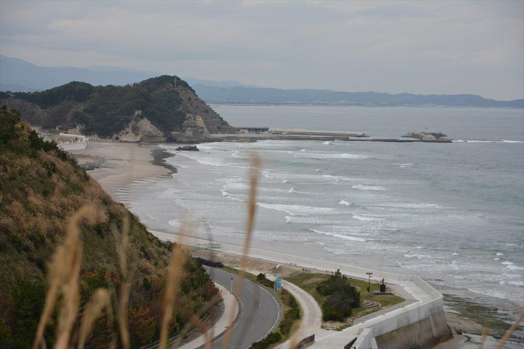 薄磯海水浴場の方向(灯台の北側)_4
