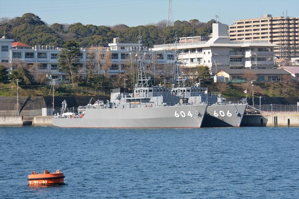 604&606の掃海艇コンビ_1
