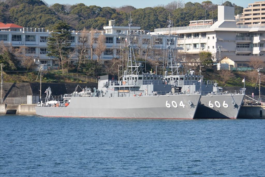 604&606の掃海艇コンビ_2